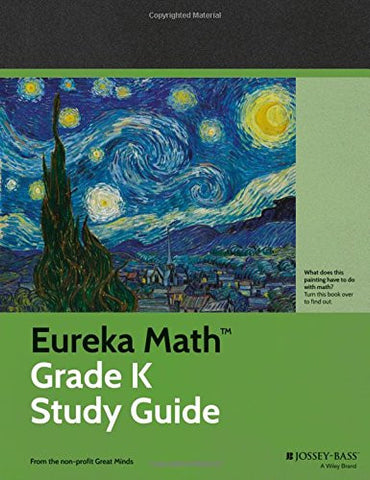 Eureka Math Grade K Study Guide (Common Core Mathematics)