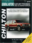 Chevrolet Blazer, Jimmy, Typhoon, and Bravada, 1983-93 (Chilton Total Car Care Series Manuals)