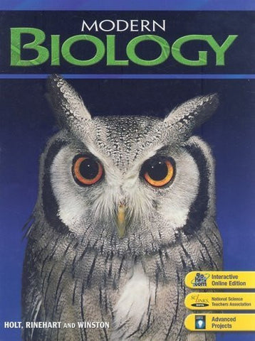 Modern Biology: Teacher's Edition 2009