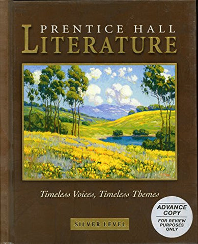 Prentice Hall Literature: Timeless Voices, Timeless Themes - Silver Level, Grade 8