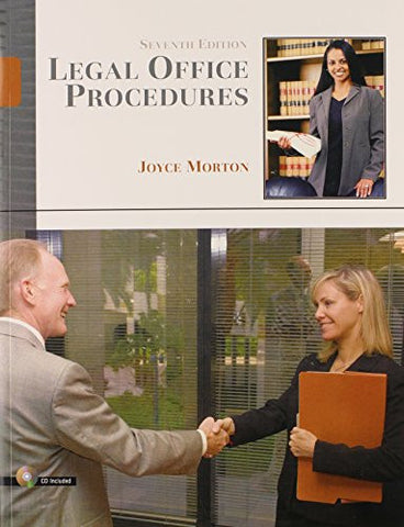 Legal Office Procedures (7th Edition)