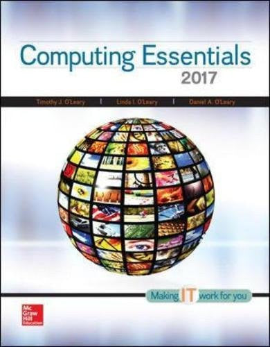 Computing Essentials 2017 (CIT)