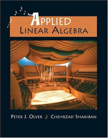 Applied Linear Algebra