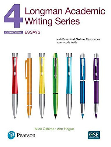 Longman Academic Writing Series 4: Essays, with Essential Online Resources
