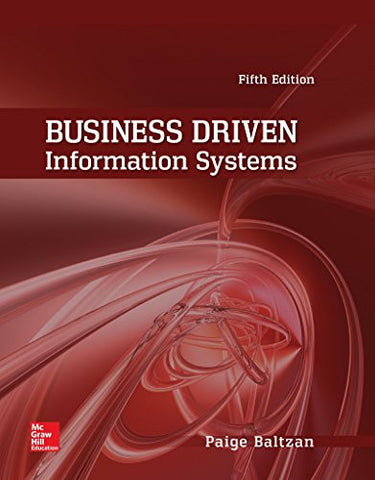 Business Driven Information Systems (Irwin Management Information Systems)