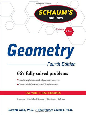 Schaum's Outline of Geometry, 4ed (Schaum's Outline Series)