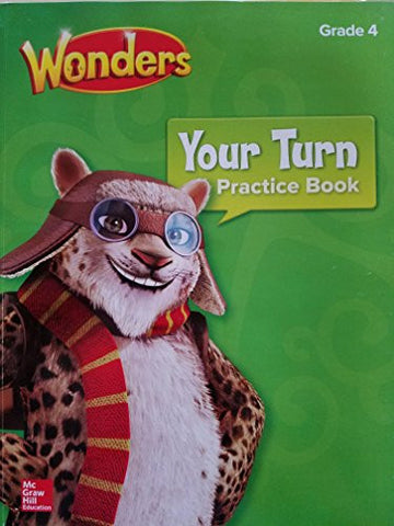 Your Turn Practice Book Grade 4 (ELEMENTARY CORE READING)