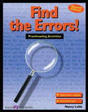 Find the Errors!: Proofreading Activities (011588e5) (Walch Reproducible Books)