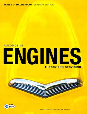 Automotive Engines: Theory and Servicing (7th Edition)