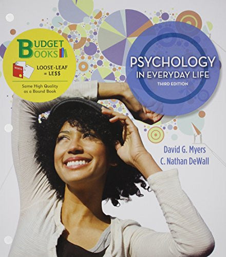 Loose-leaf Version for Psychology in Everyday Life & LaunchPad 6 month access card (Budget Books)