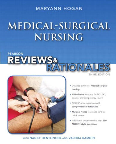 Pearson Reviews & Rationales: Medical-Surgical Nursing