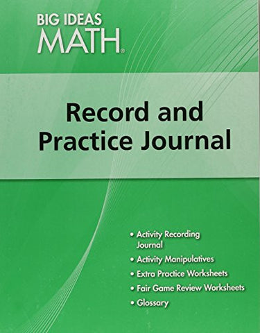BIG IDEAS MATH: Record & Practice Journal Green/Course 1