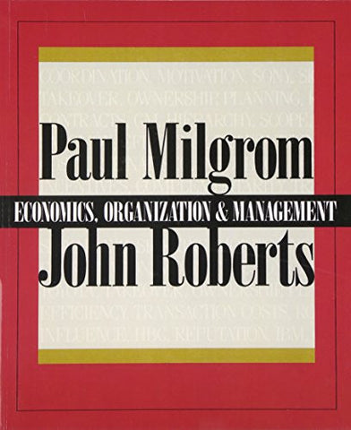 Economics, Organization and Management