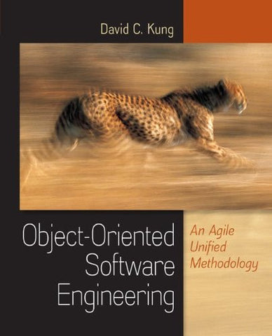 Object-Oriented Software Engineering: An Agile Unified Methodology (Irwin Computer Science)