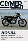 Honda 350-550cc Fours 72-78 (Clymer Manuals: Motorcycle Repair)