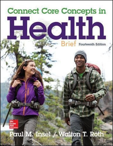 Connect Core Concepts in Health Brief Loose Leaf Edition (B&B Health)