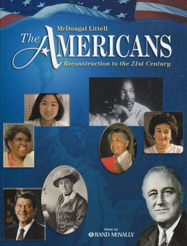 The Americans: Student Edition Bundle Grades 9-12 Reconstruction to the 21st Century 2003