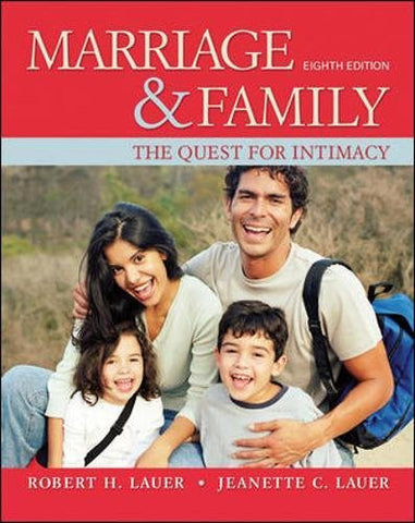 Marriage and Family: The Quest for Intimacy (B&B Sociology)