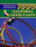 Prentice Hall Mathematics California Grade 6 Math