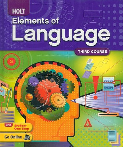 Elements of Language: Student Edition Grade 9 2009