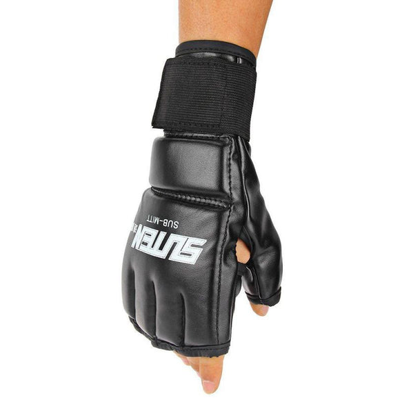 High Quality Sport Gloves Men Half Finger MMA fighting boxing gloves Training Punching Bag Mitts Sparring Boxing Gloves#