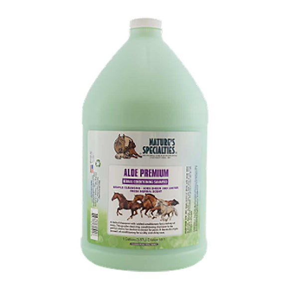 Nature's Specialties Aloe Premium Shampoo for Horses Gallon