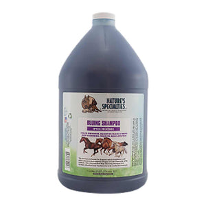 Nature's Specialties Aloe Bluing Shampoo with Optical Brighteners for Horses Gallon