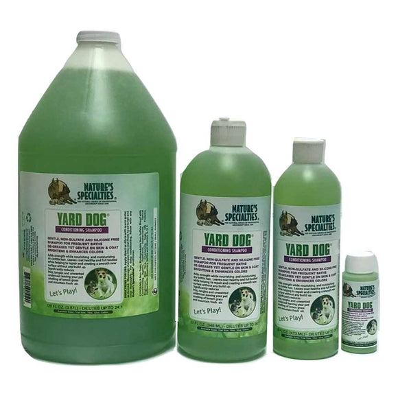 All Sizes of Nature's Specialties Yard Dog Shampoo for Dogs & Cats