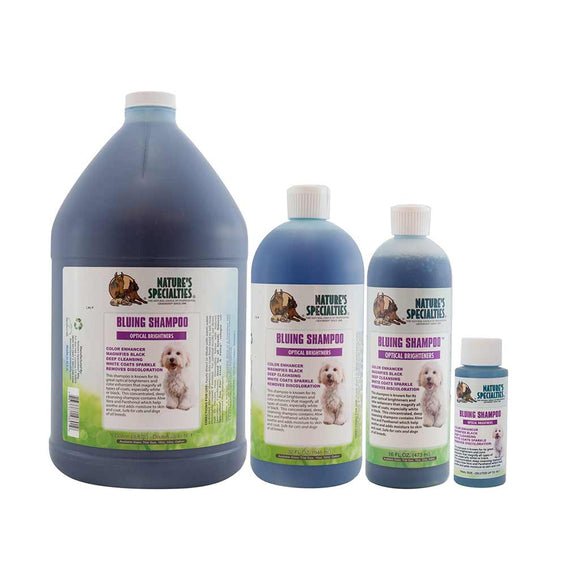 Aloe Bluing Shampoo with Optical Brighteners for Dogs & Cats