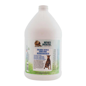 All Sizes of Nature's Specialties Colloidal Oatmeal Créme Rinse for Dogs & Cats