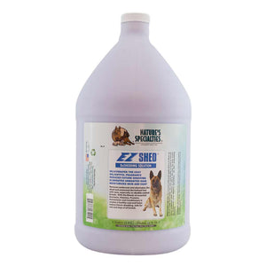 All Sizes of Natures Specialties EZ Shed® DeShedding Conditioner for Dogs & Cats