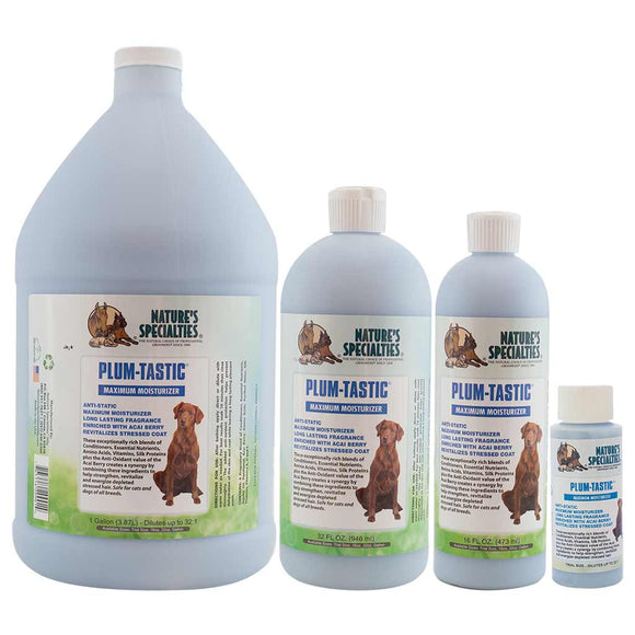 All Sizes of Nature's Specialties Plum-Tastic Maximum Moisturizer for Dogs & Cats