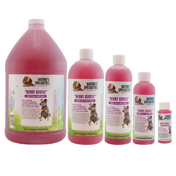 All Sizes of Nature's Specialties Berry Gentle Face and Body Wash