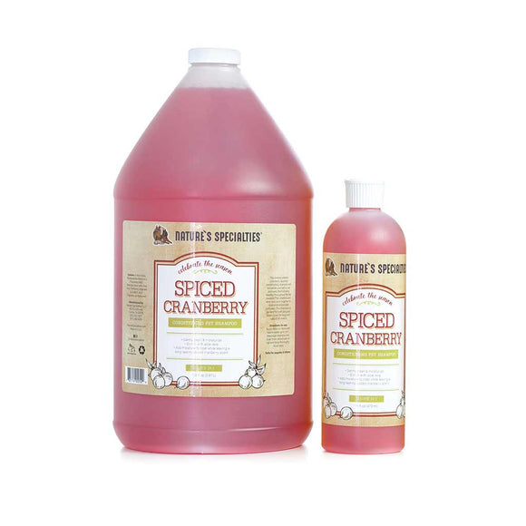 All Sizes of Nature's Specialties Spiced Cranberry Conditioning Shampoo