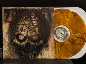Zombeast Vinyl LP - Orange and Black Swirl