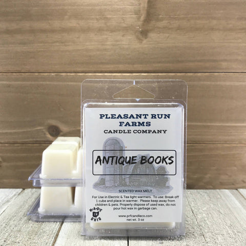 Antique Books Scented Candle melt (AKA Contentment)