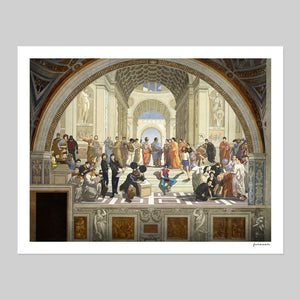 School of Athens Electro