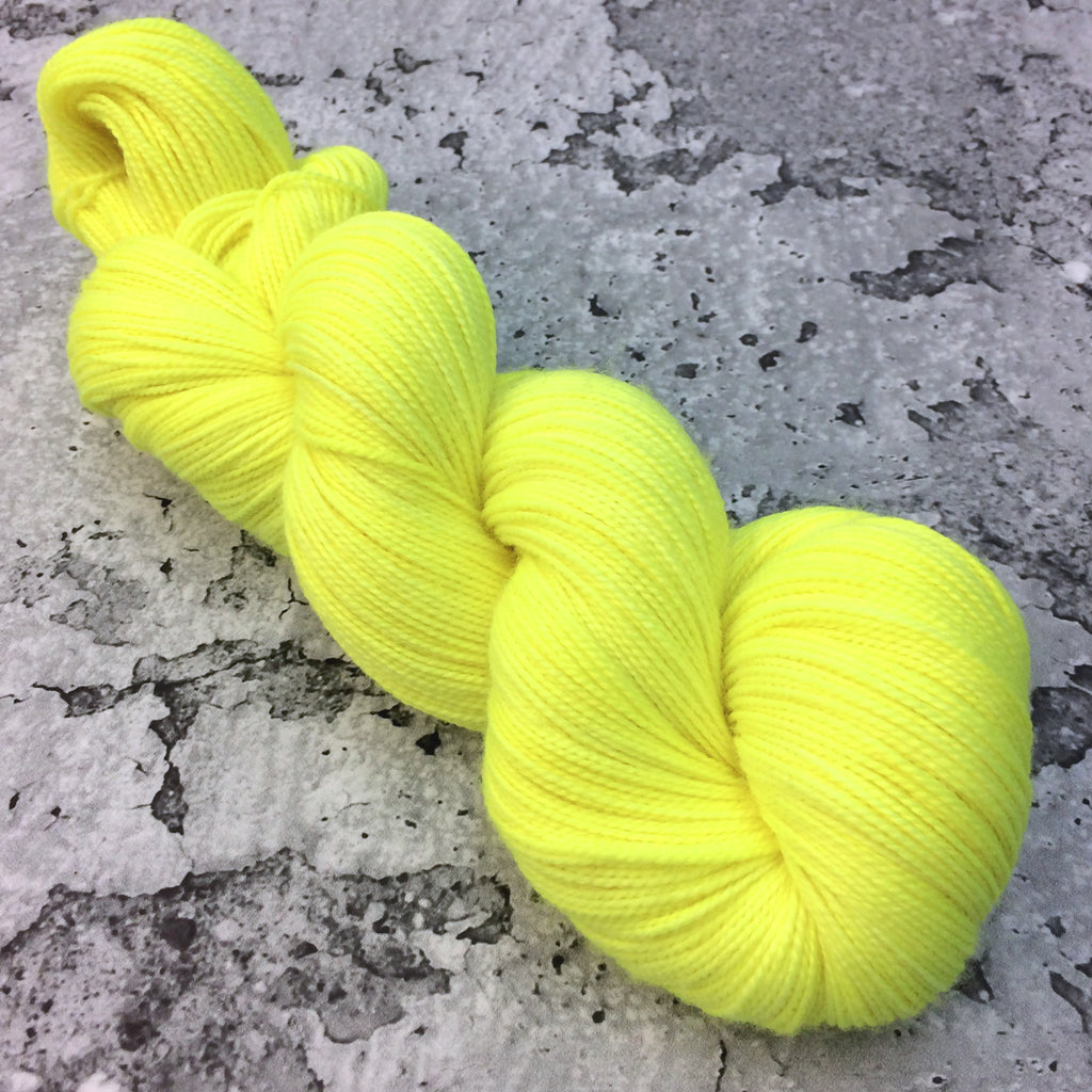 ELECTRIC LEMON | 80/20 Sock