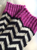 BLACKJACK | self-striping sock (dyed-to-order)
