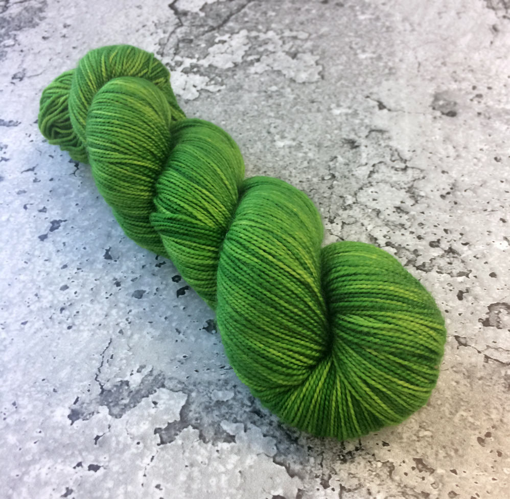 ASTROTURF - 80/20 Merino Sock Hand-dyed Yarn