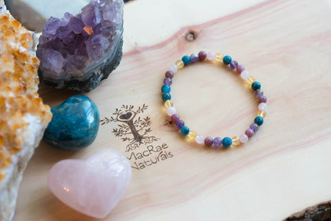 MacRae Naturals Self Love Crystal Bracelet