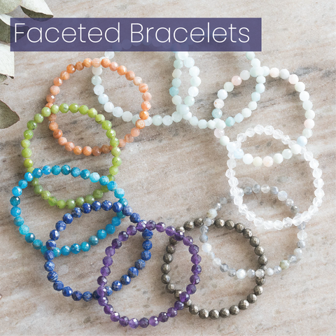 Faceted Bracelet Singles by MacRae Naturals