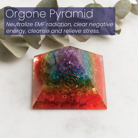 Orgone Pyramid by MacRae Naturals