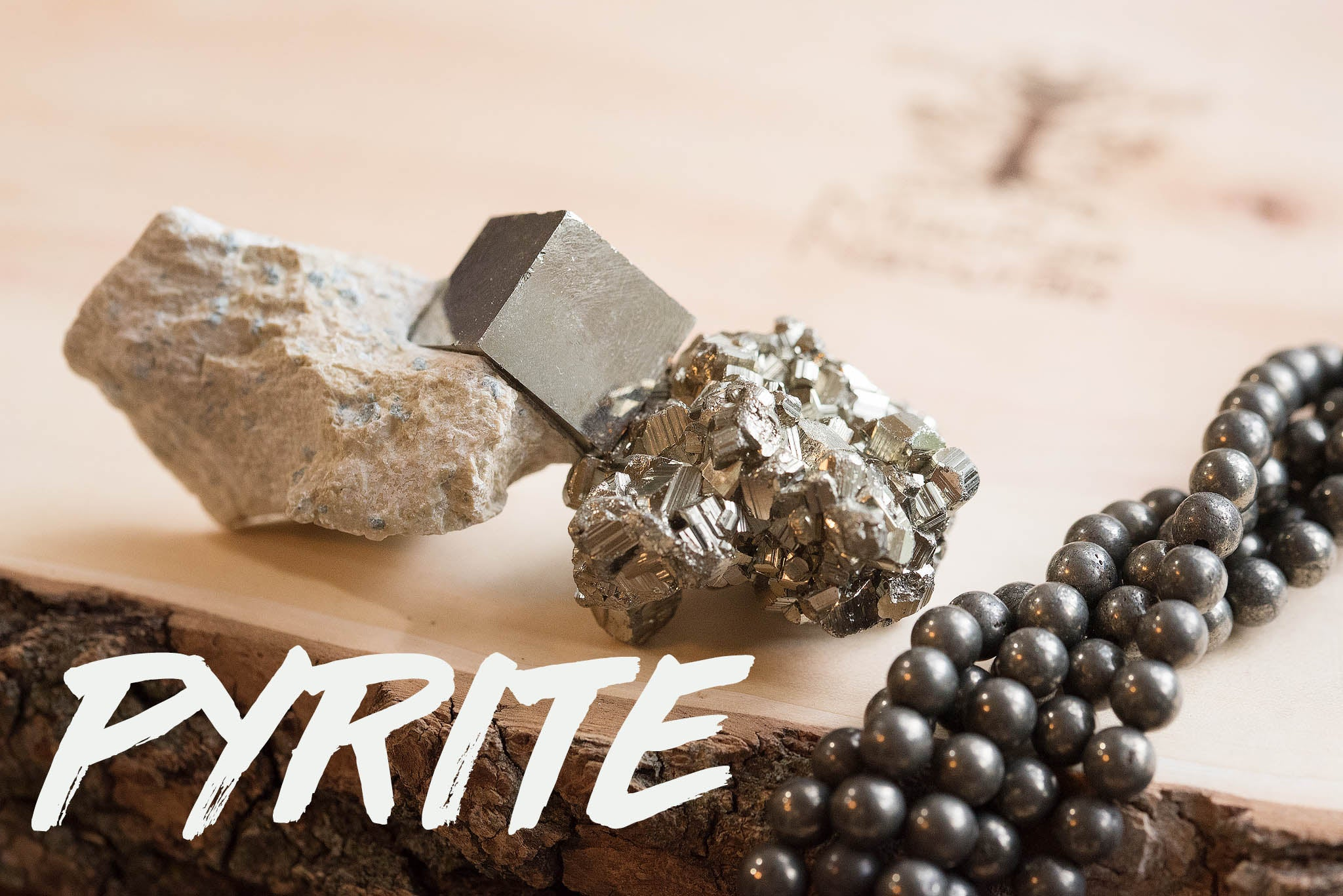 Pyrite Healing Properties- MacRae Naturals Crystal Pyrite Jewelry