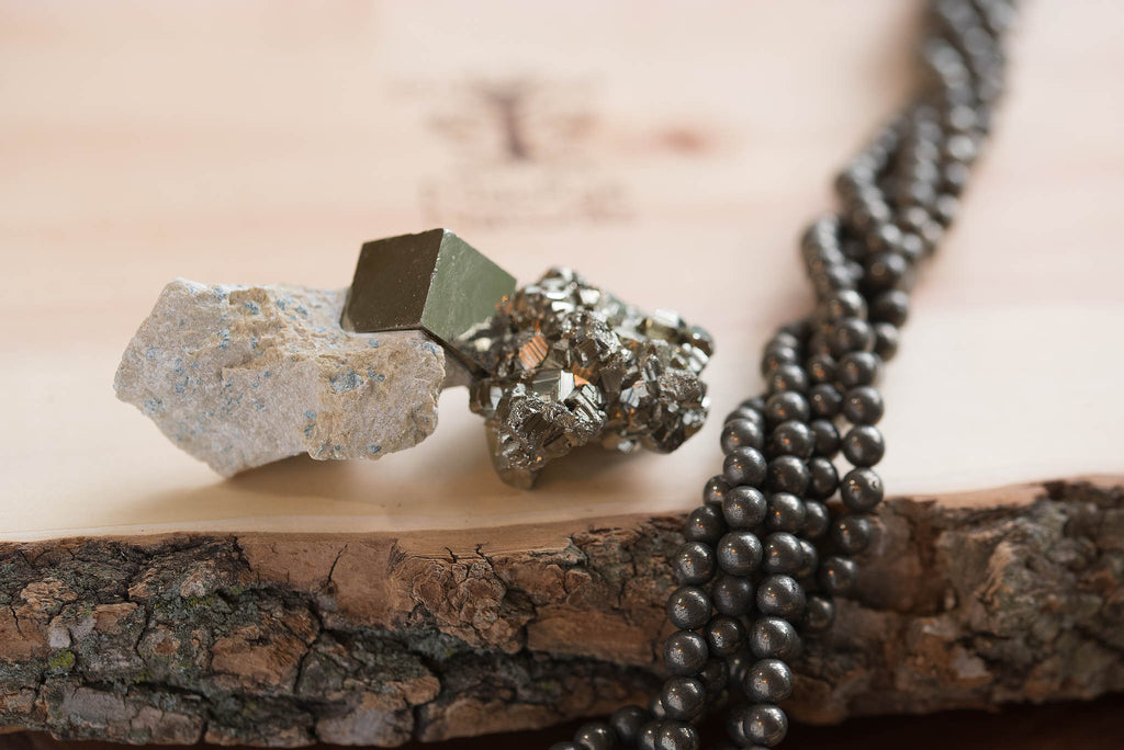 Pyrite Uses and Properties- MacRae Naturals Custom Crystal Pyrite Jewelry