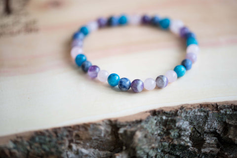 Natural Crystal Weight Loss Support Bracelet MacRae Naturals