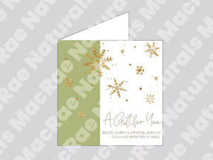 Printable Holiday Gift Card