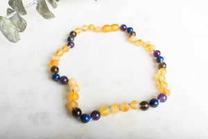 Sleep & Teething Support Baltic Amber Necklace