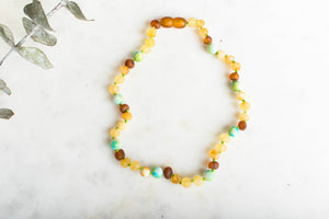 Baltic Amber Teething & Pain Jewelry in 'Chase' (RETIRING - FINAL SALE)