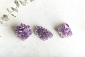 Amethyst Crystal Cluster- Stress & Anxiety